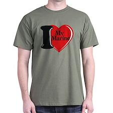 Love My Marine Dark T-Shirt