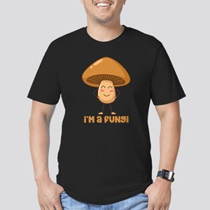 I'm A Fungi Men's Fitted T-Shirt (dark)
