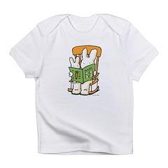 2 bunnies reading Infant T-Shirt