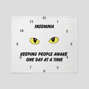 insomnia Throw Blanket