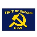 New Oregon Flag Postcards (Package of 8)