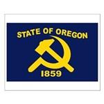 New Oregon Flag Small Poster