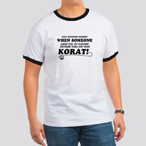 Korat breed designs Ringer T