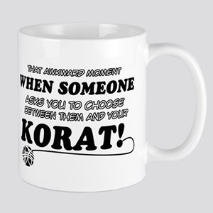 Korat breed designs Mug