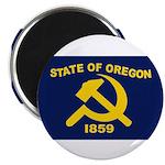 New Oregon Flag Magnet