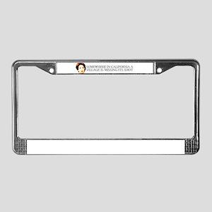 nancy pelosi License Plate Frame
