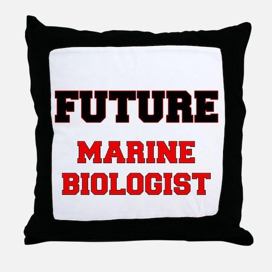 Future Marine Biologist Throw Pillow