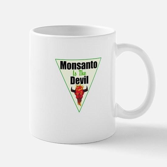 Monsanto is the Devil Mug