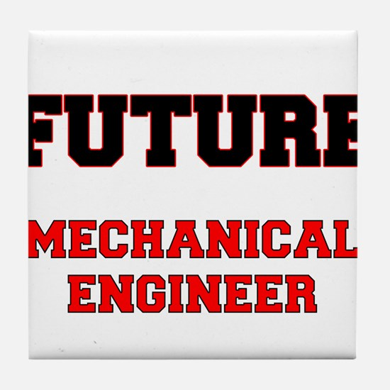 Future Mechanical Engineer Tile Coaster