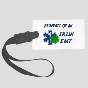 Property Of Irish EMT Luggage Tag