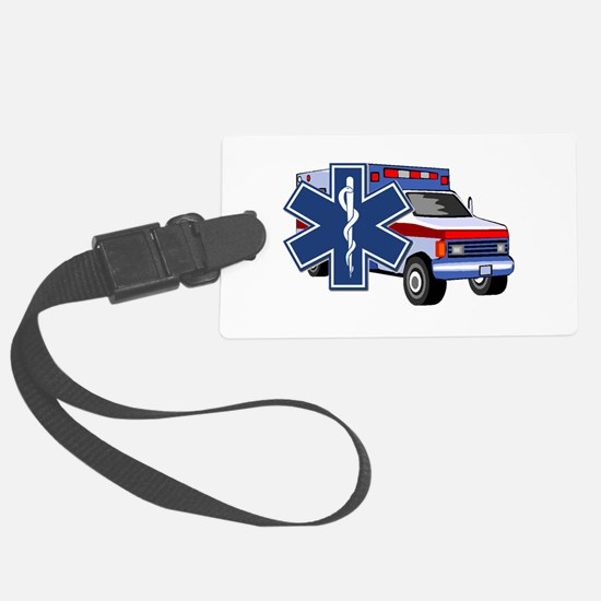 EMS Ambulance Luggage Tag