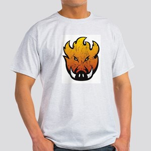 Flaming Hog Head T-Shirt