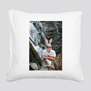 BABunny Geoff Square Canvas Pillow