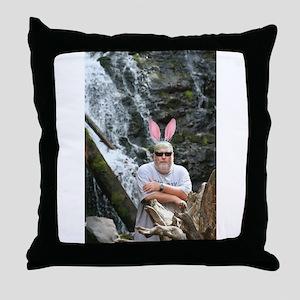 BABunny Geoff Throw Pillow