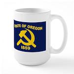 New Oregon Flag Large Mug