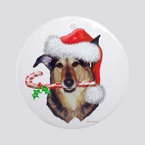 Evelyn's Sparky Christmas Ornament (Round)