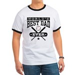 World's Best Dad Ever Baseball Ringer T