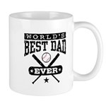 World's Best Dad Ever Baseball Mug