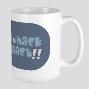 Whack to Hack Large Mug