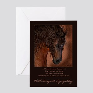 Pet Sympathy Loss of a Horse