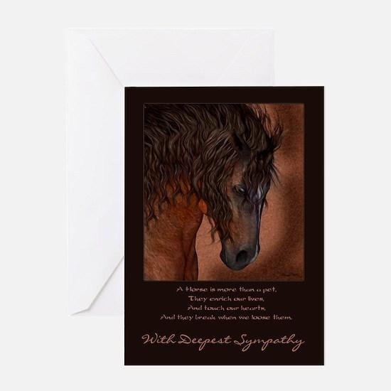 Pet Sympathy Loss of a Horse