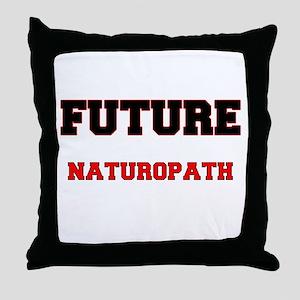 Future Naturopath Throw Pillow