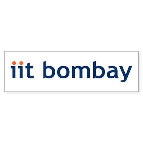 Iit Bombay Bumper Sticker