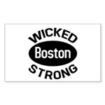 Boston Wicked Strong Sticker