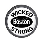 Boston Wicked Strong Wall Clock