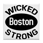 Boston Wicked Strong Tile Coaster