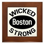 Boston Wicked Strong Framed Tile