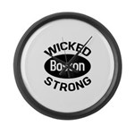 Boston Wicked Strong Large Wall Clock