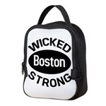 Boston Wicked Strong Neoprene Lunch Bag