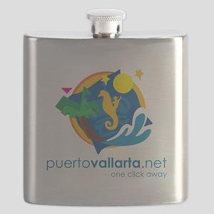 PuertoVallarta.net Logo Flask