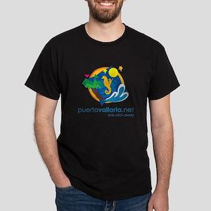PuertoVallarta.net Logo T-Shirt