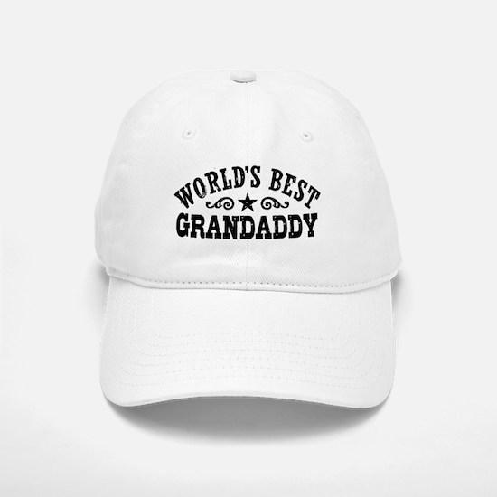 World's Best Grandaddy Baseball Baseball Cap