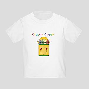 Crayon Queen Toddler T-Shirt