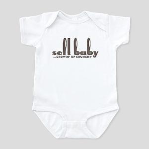 Soft Baby... growin' up crunchy! Infant Bodysuit
