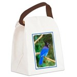 Steller's Jay Canvas Lunch Bag