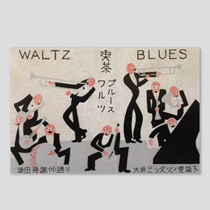 Jazz Band, Music, Vintage Poster Postcards (Packag