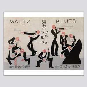 Jazz Band, Music, Vintage Poster Posters