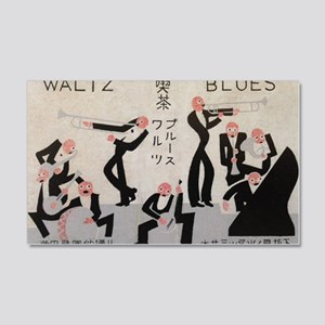 Jazz Band, Music, Vintage Poster Wall Decal