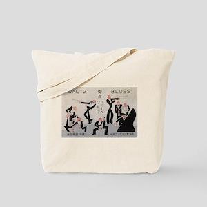 Jazz Band, Music, Vintage Poster Tote Bag
