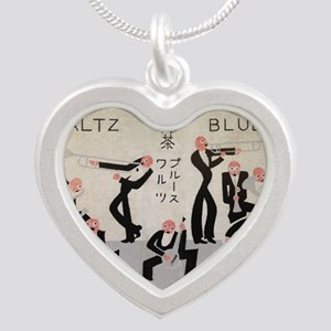 Jazz Band, Music, Vintage Poster Necklaces