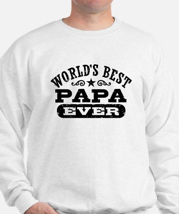 World's Best Papa Ever Sweatshirt