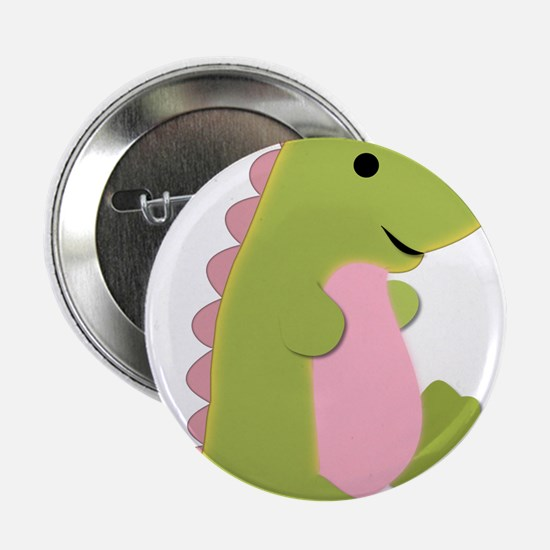"""Cute Dinosaur 2.25"""" Button"""