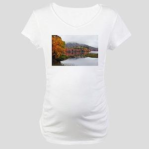 Fall Reflections Maternity T-Shirt