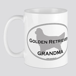 Golden GRANDMA Mug