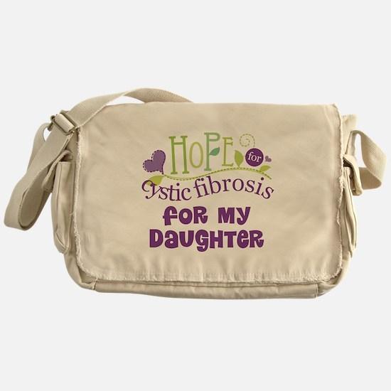 Daughter Cystic Fibrosis Hope Messenger Bag