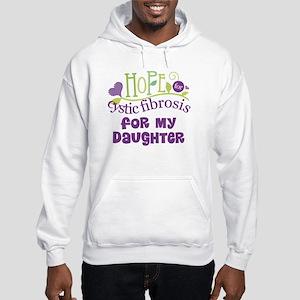 Daughter Cystic Fibrosis Hope Hooded Sweatshirt